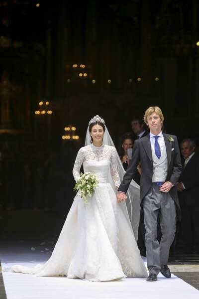 Christian de Hanovre et Alessandra de Osma