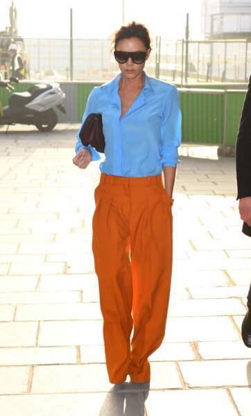 Victoria Beckham se rend au chez Louis Vuitton - Paris