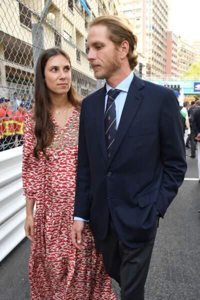 Tatiana Santo Domingo posant un regard tendre sur son époux, Andrea Casiraghi