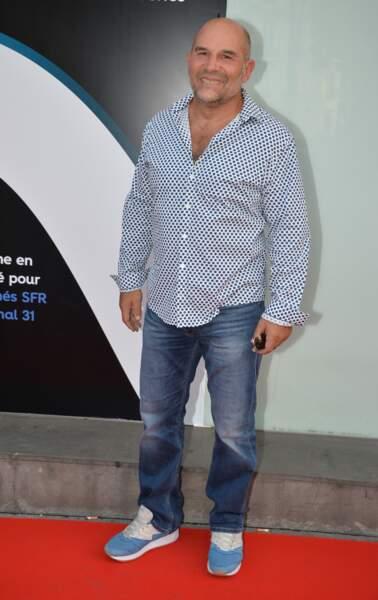 Vincent Moscato, ancien rugbyman.