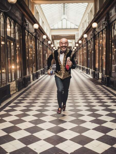 Christian Louboutin photographié par Ugo Richard réalisation Malika Slimani
