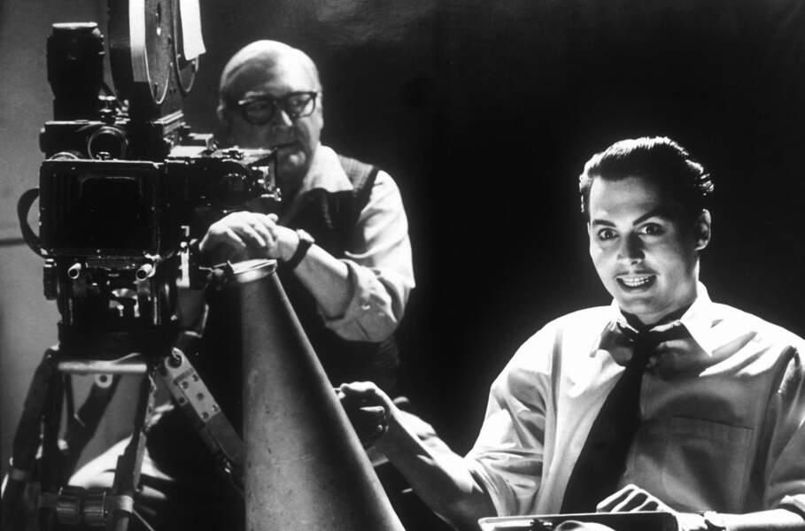 "Johnny Depp dans le film ""Ed Wood"" (1994)"
