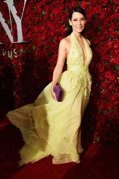 Lucy Liu en Zuhair Murad Couture
