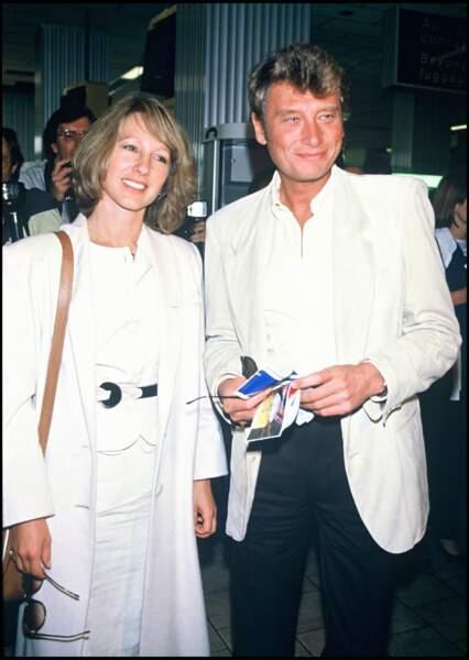 Johnny Hallyday et Nathalie Baye, tourtereaux angéliques à Cannes en 1984