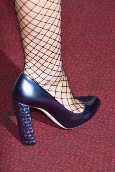Zoom sur ses souliers signés Dior