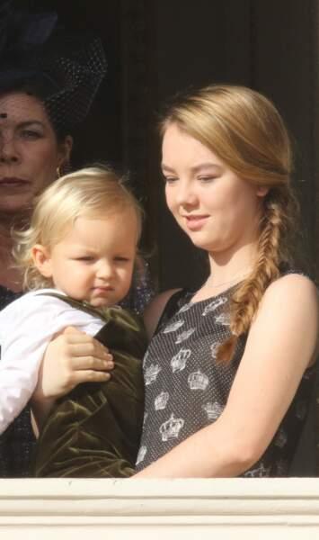 La princesse Alexandra de Hanovre et son neveu Sacha Casiraghi le 19 novembre 2014