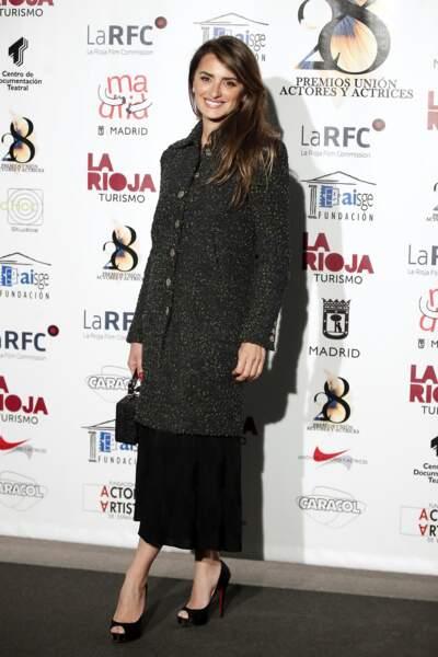 Nouvelle égérie de la maison Chanel, Penélope Cruz a fait sensation dans un total look Chanel