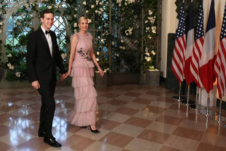 Ivanka Trump, la fille du président américain Donald Trump, élégante en robe Rodarte