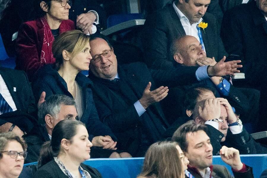 François Hollande et sa compagne Julie Gayet