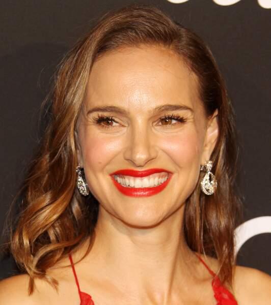 Radiance naturelle pour Natalie Portman