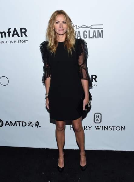 Julia Roberts : avec se longueurs blondes, elle reste à 50 ans l'une des plus belles blondes du moment