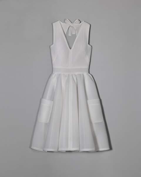 Robe en résille de polyester, Alexis Mabille pour Monoprix, 180 €