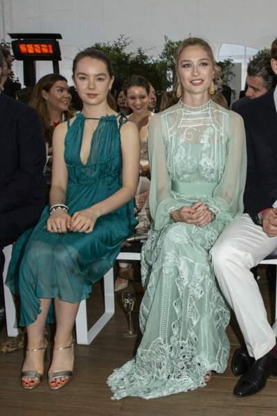 Alexandra de Hanovre et Beatrice Borromeo étaient resplendissantes lors du défilé, ce18 mai à Monaco.