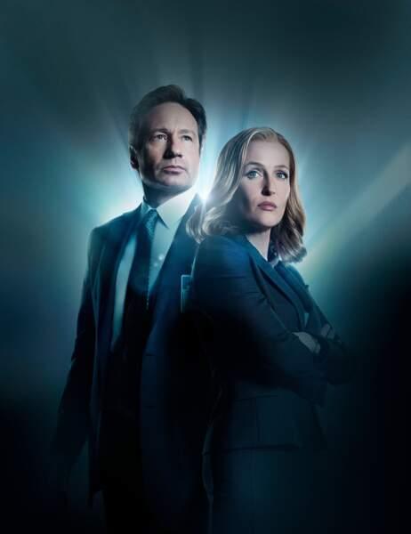 """Ils sont enfin de retour. David Duchovny et Gillian Anderson relancent """"X-Files"""" le 24 janvier prochain"""