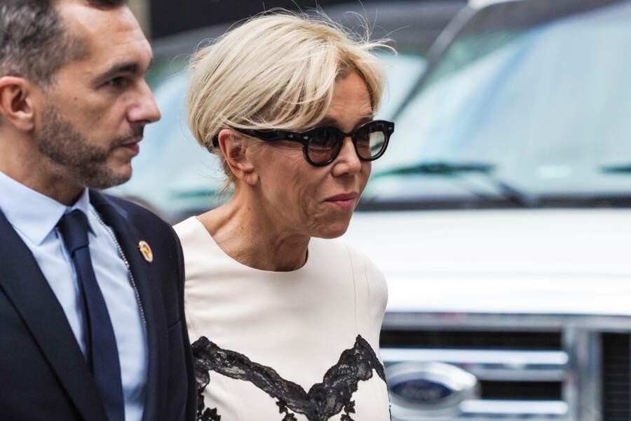 Brigitte Macron, telle une star à New York