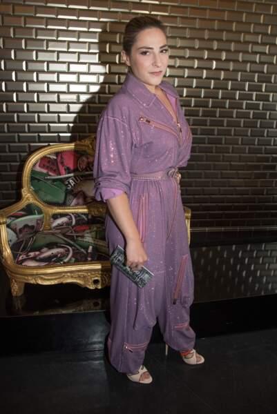En combinaison fluide au défilé Haute Couture Jean Paul Gaultier Automne Hiver 2016