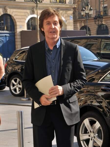 Paul Mc Cartney, fidèle client du Ritz