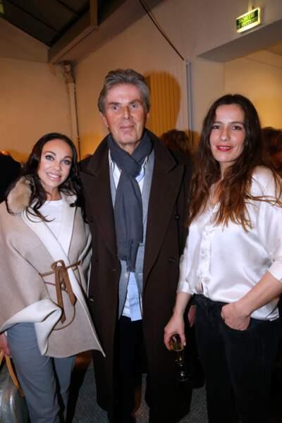 Alexandra Cardinale, Dominique Desseigne et Zoé Felix