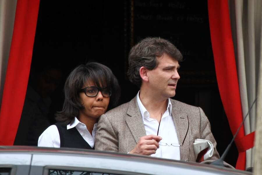 Arnaud Montebourg en couple avec Audrey Pulvar en 2011