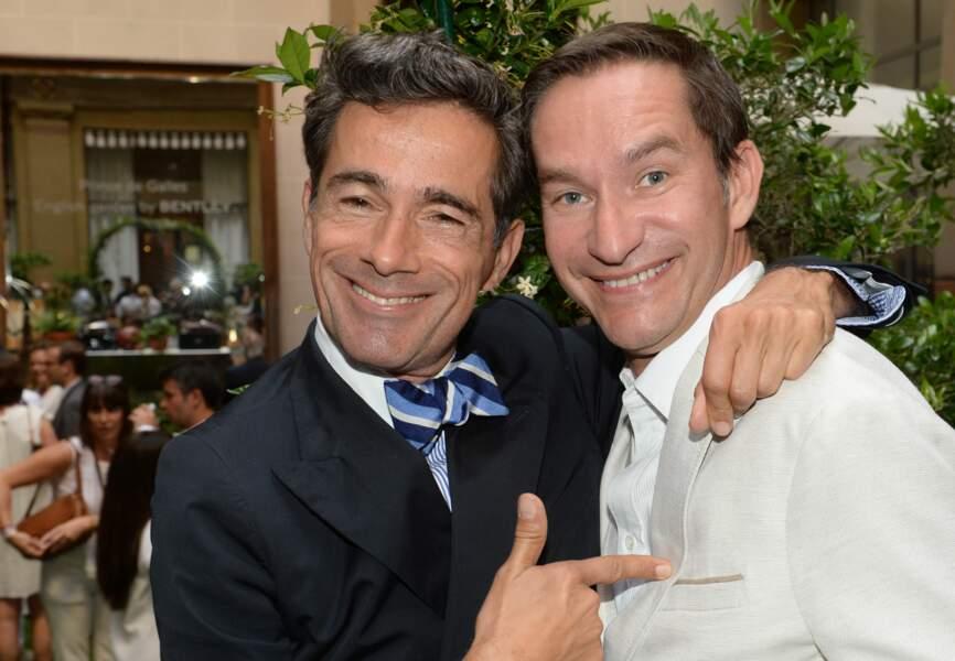 Vincent Darré et Xavier Brunet