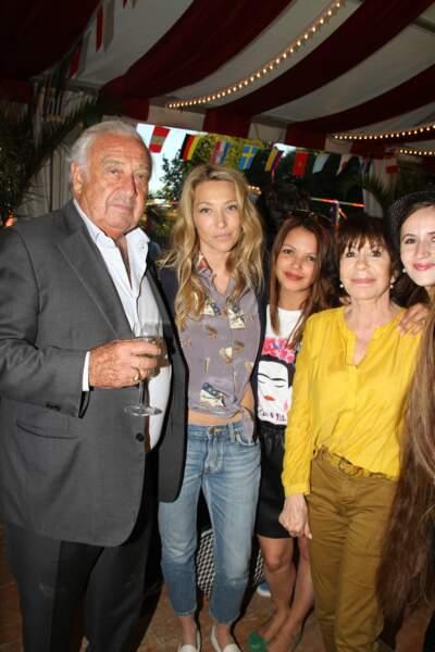 Marcel Campion, Laura Smet, Séverine Ferrer, Danièle Evenou le 22 juin 2018
