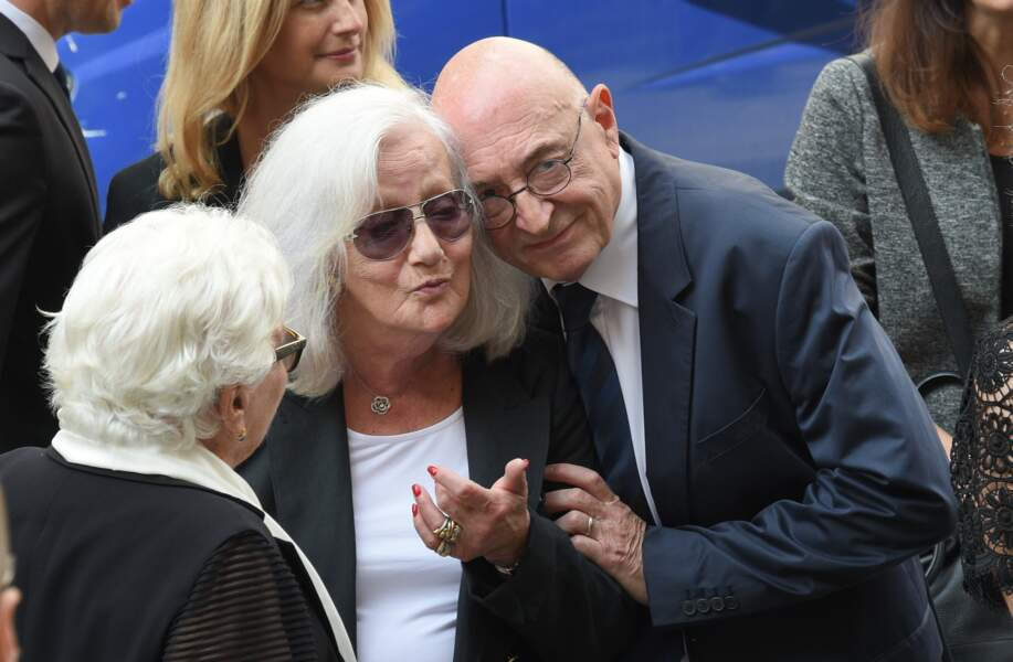 Line Renaud, Roselyne Bracchi et Guy Montagné