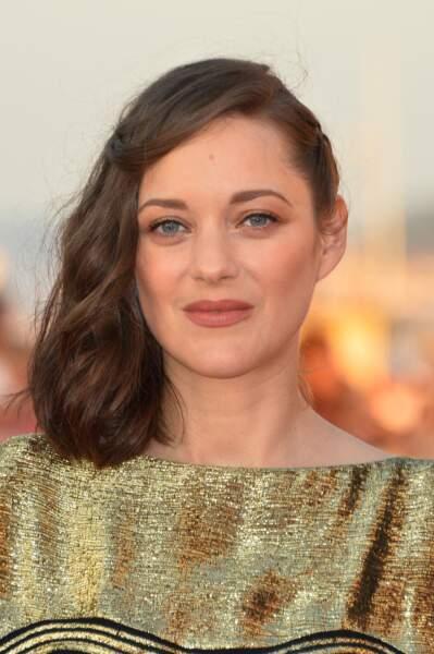 Le merveilleux side hair de Marion Cotillard