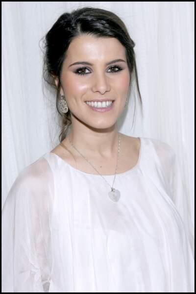 Karine Ferri à la cérémonie de remise des trophées des jeunes talents à Paris en 2008