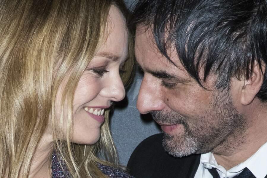 Vanessa Paradis et  Samuel Benchetrit à Paris le 5 mars 2018