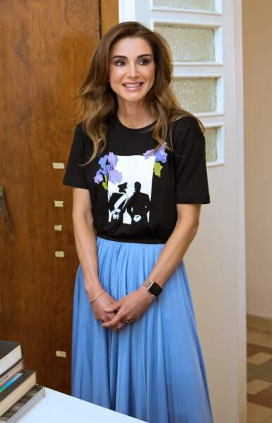 Rania de Jordanie était ravissante dans cette tenue