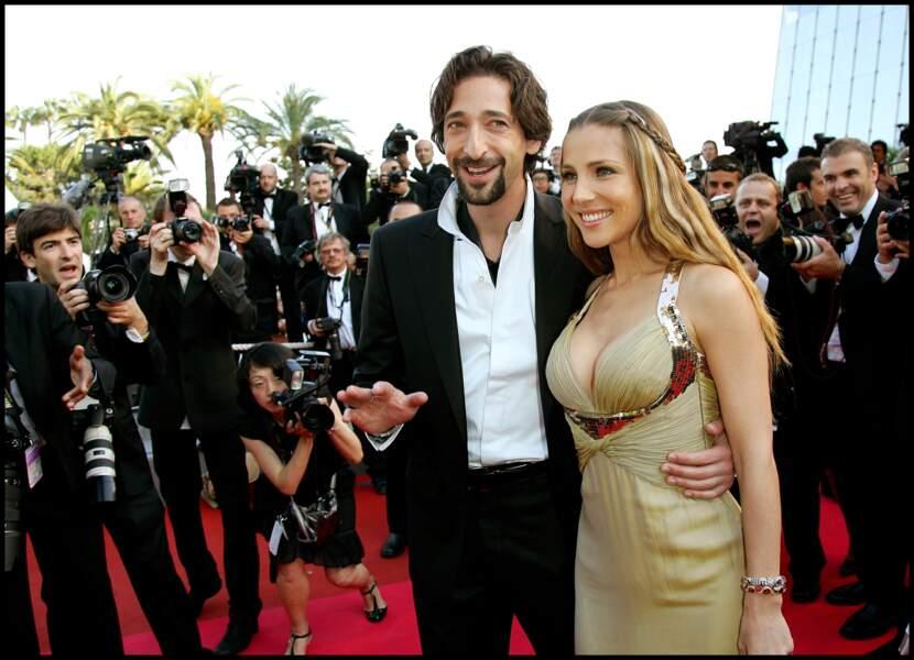 Adrien Brody et Elsa Pataky au Festival de Cannes en 2008