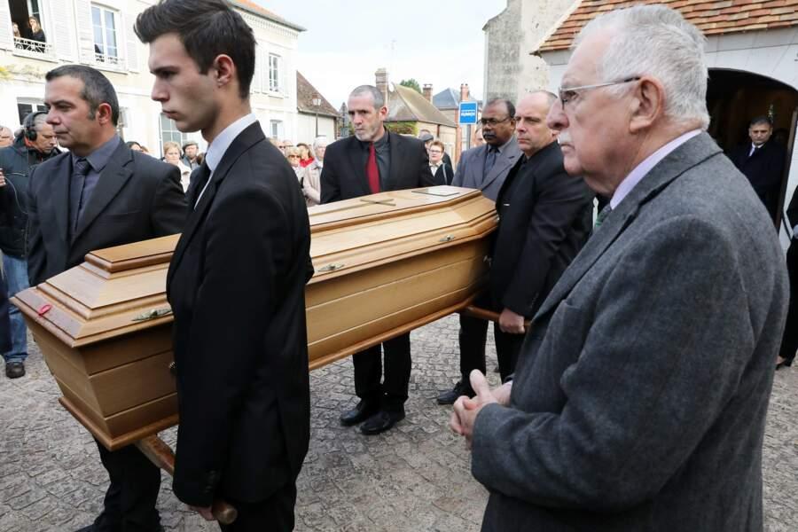 Plus de 300 personnes étaient présentes aux obsèques de Danielle Larrieux