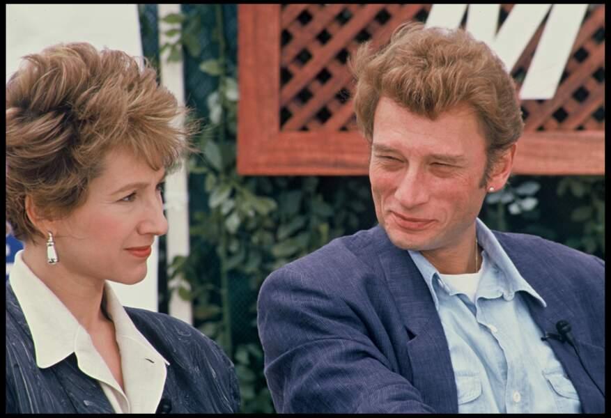 Johnny Hallyday et Nathalie Baye, amoureux au festival de Cannes en 1985
