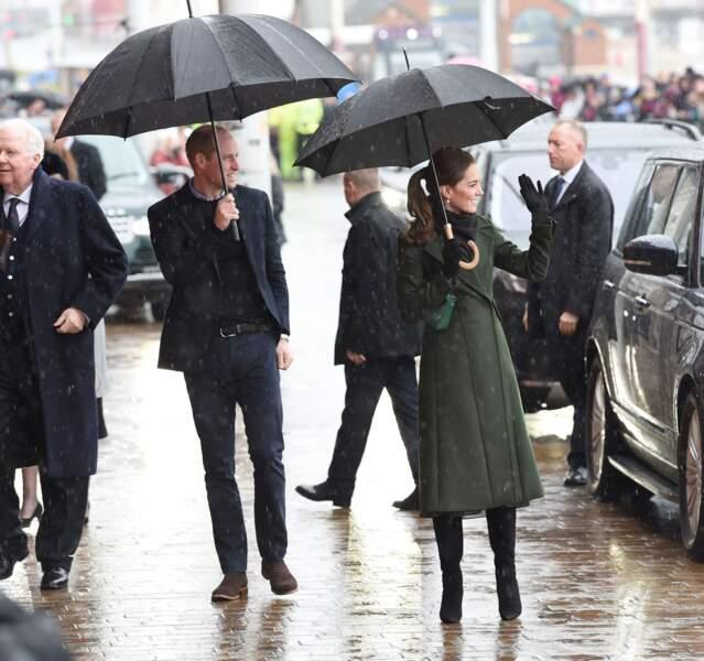 Kate Middleton et le prince William, un couple chaleureux