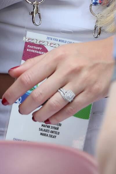Maria Salues porte une magnifique bague de fiançailles. Paul Pogba lui aurait-il fait sa demande ?