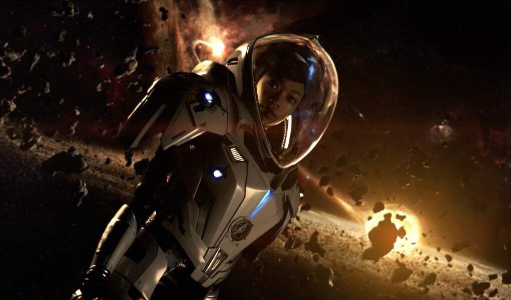 Sonequa Martin-Green incarne le lieutenant commandeur Michael Burnham dans Star Trek : Discovery