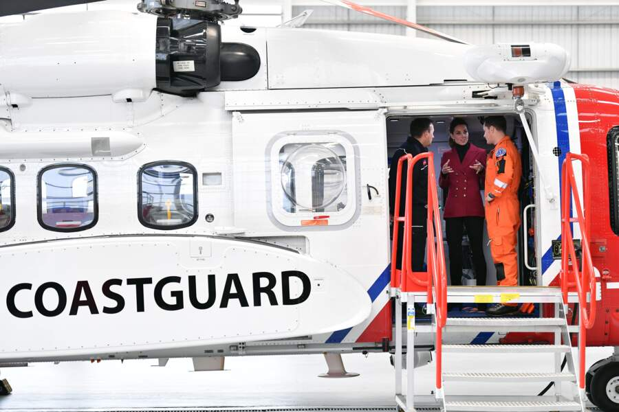 Kate Middleton a connu les appels d'urgence par l'intermédiaire de William, alors qu'ils étaient basés à Anglesey