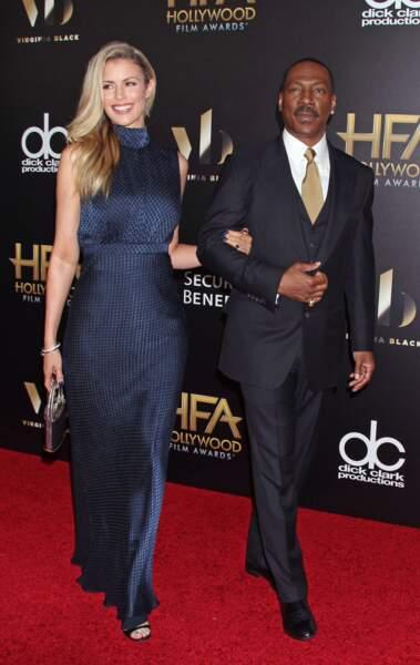 Eddie Murphy et sa compagne Paige Butcher, très glamour