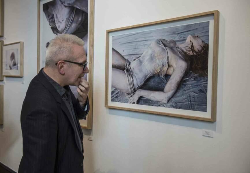 Le couturier Jean Paul Gaultier, inspiré