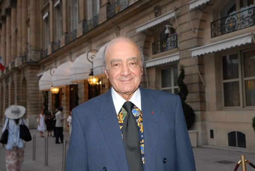 Mohamed Al-Fayed, propriétaire de l'établissement, il l'a racheté à la famille Ritz en 1976