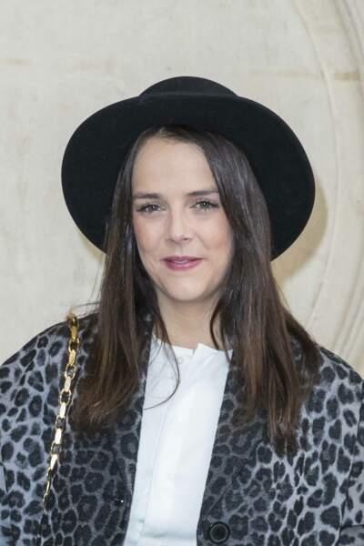 Pauline Ducruet a opté pour un chapeau