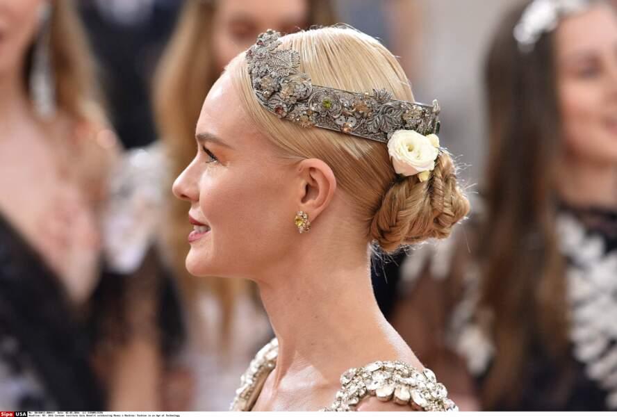 Kate Bosworth : sa couronne de fleurs chic en 2016