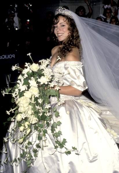 1993, Mariah Carey craque pour Tommy Mottola