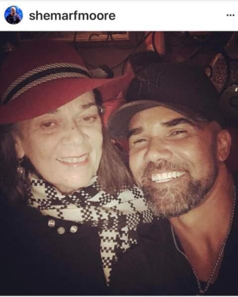 Shemar Moore et sa mère