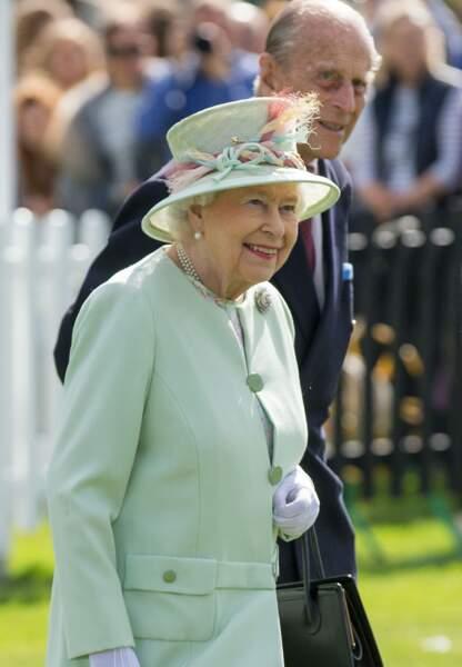 La première apparition du prince Philip depuis son hospitalisation le 21 juin 2017.