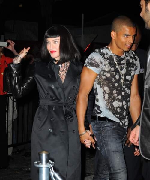 Madonna et Brahim Zaibat au Met Gala à New York en 2013