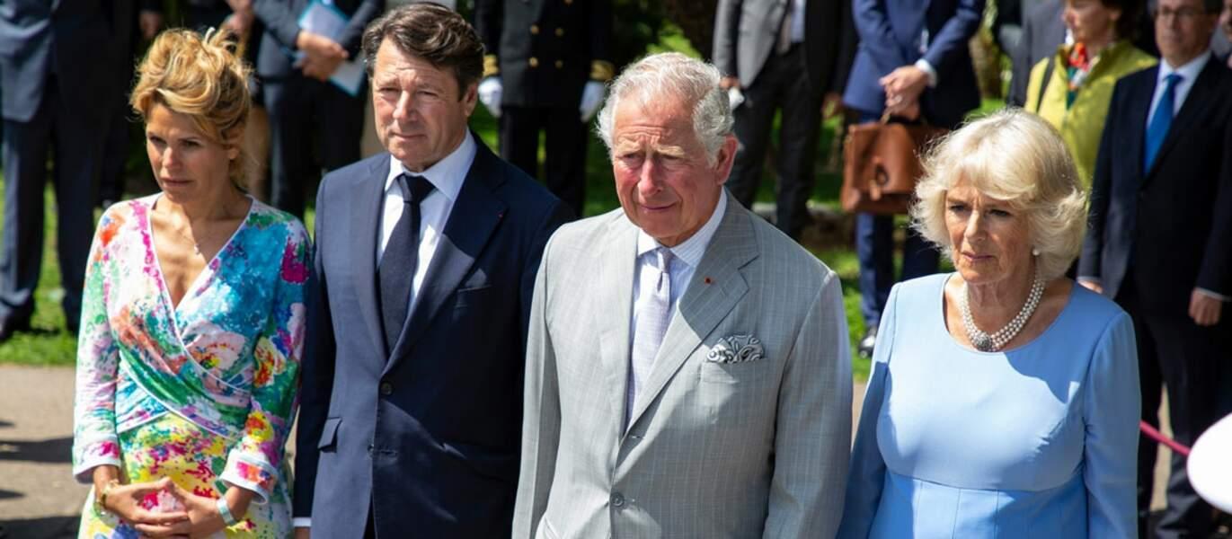 Le couple a assisté en mai 2018 à une cérémonie d'hommage aux victimes des attentats, avec le prince de Galles