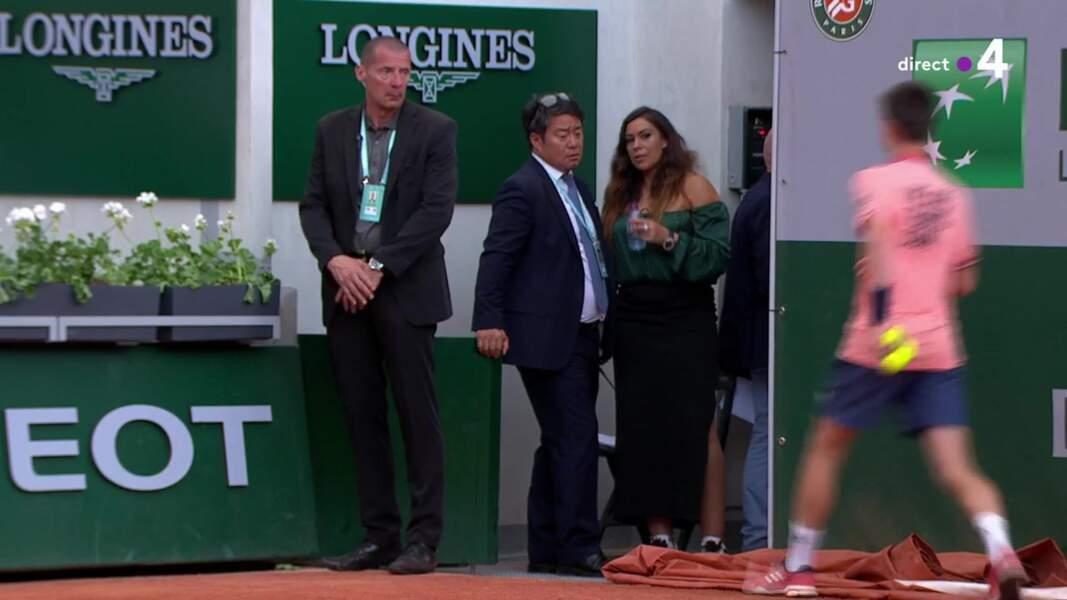 Marion Bartoli en robe à Roland-Garros