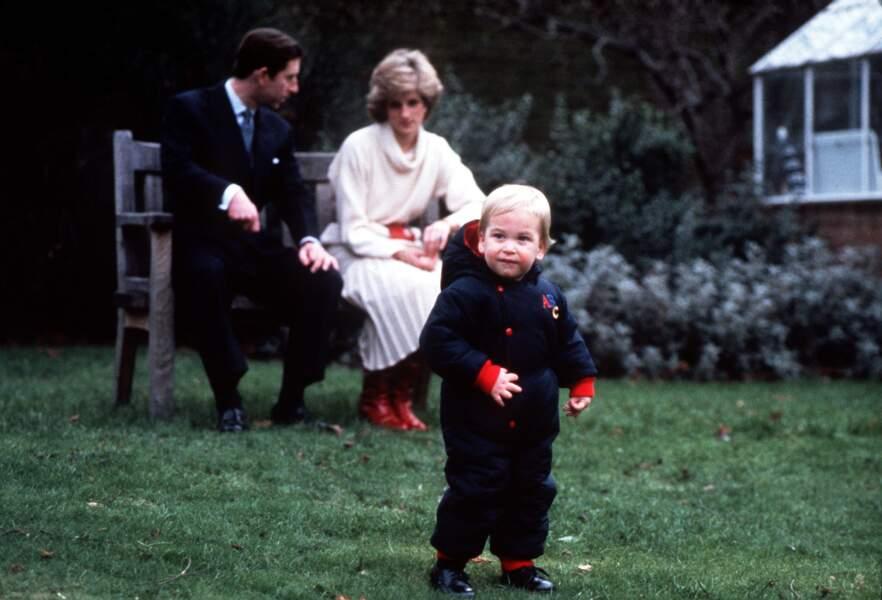 Elevés dans les Appartements 8 et 9 réunis, leurs fils William et Harry ont fait leurs premiers pas à Kensington