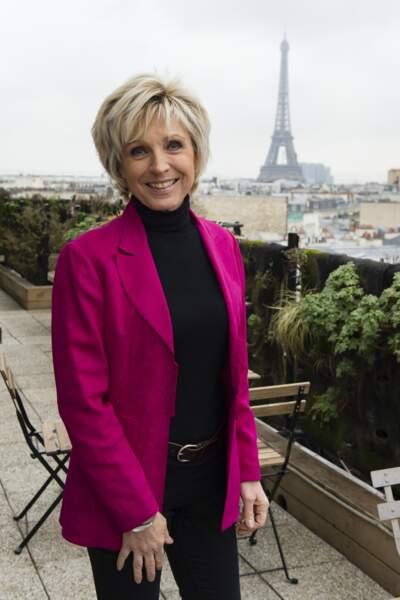 Évelyne Dhéliat, la madame météo de TF1, a fêté ses 70 ans le 19 avril 2018